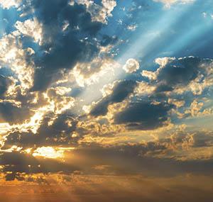 Inspiratie poollicht deco lichte hemel