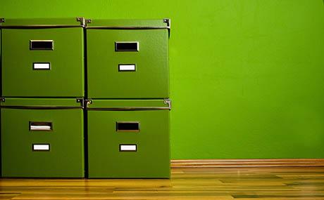 Inspiratie kleuren deco stellingkast groen