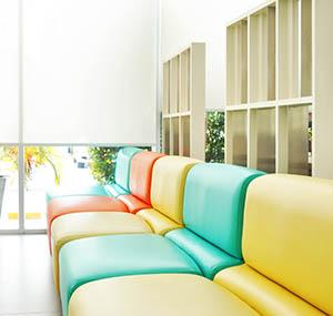 Inspiratie kleuren deco banken