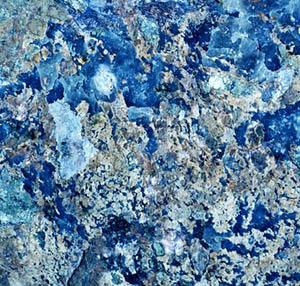 Inspiratie deco oceaan opaalblauw