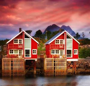 Inspiratie poollicht deco scandinavische huizen