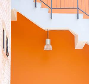 Inspiratie kleuren deco oranje